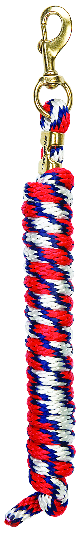 Weaver Leather White Navy Red Spiral