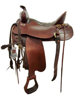 Used Tucker High Plain Trail Saddle 169401