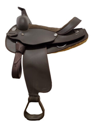 used-wintec-brown-western-saddle