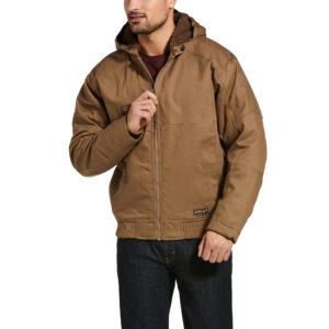 Ariat Rebar Duracanvas™ Jacket in Field Khaki Front