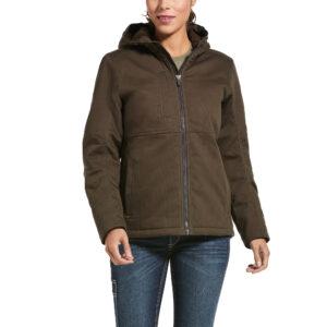 Ariat Rebar Duracanvas™ Insulated Jacket in Wren Front View