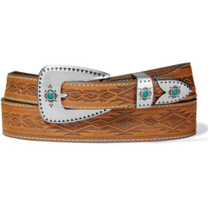 Tony Lama Dakota Western Leather Belt