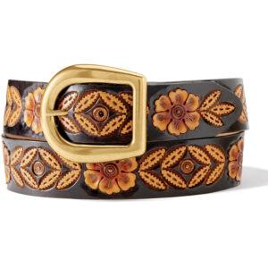 Sienna Rae Two-Tone western leather belt