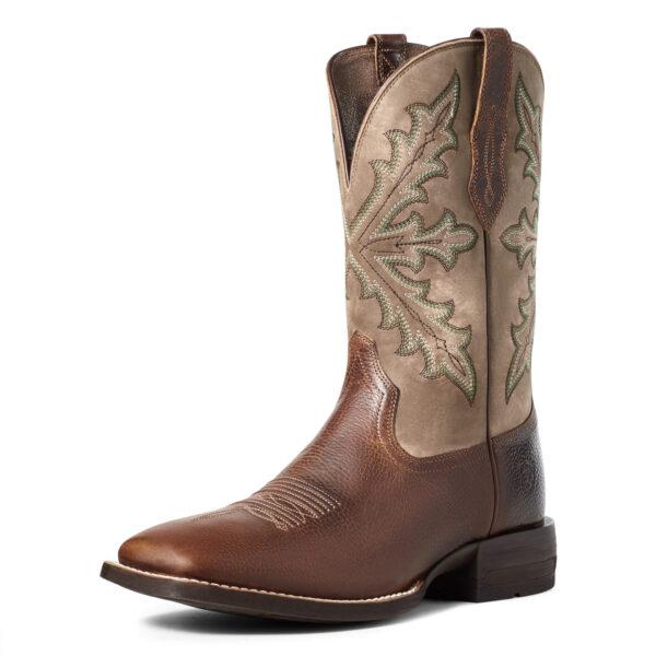 Ariat Qualifier Shock Shield Cowboy Boots