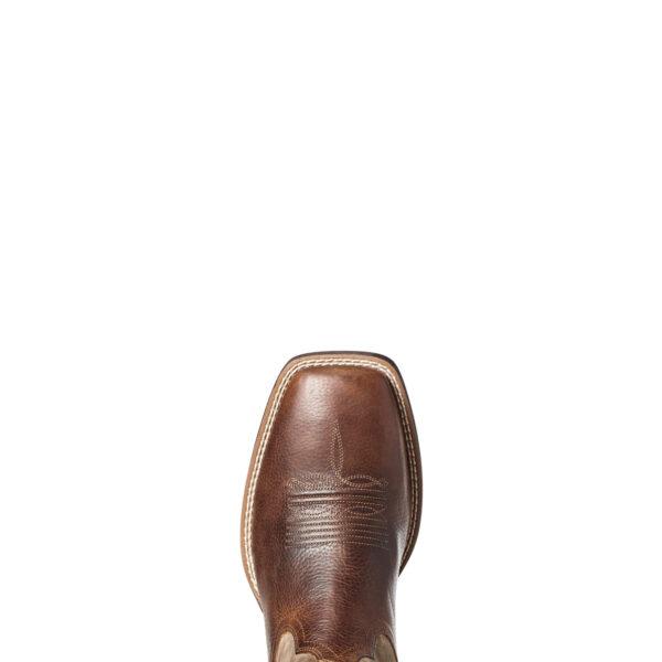 Ariat Qualifier Shock Shield Cowboy Boots Toe View